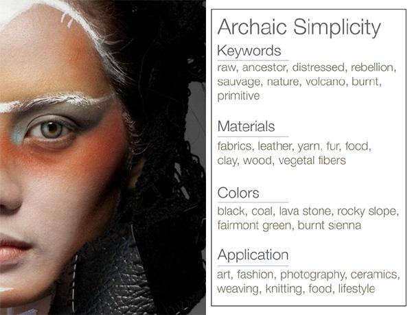 Archaic Simplicity-Trend -keywords-