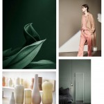 Color Inspiration No.5: Greens + Teal + Blush + Coal + Corn