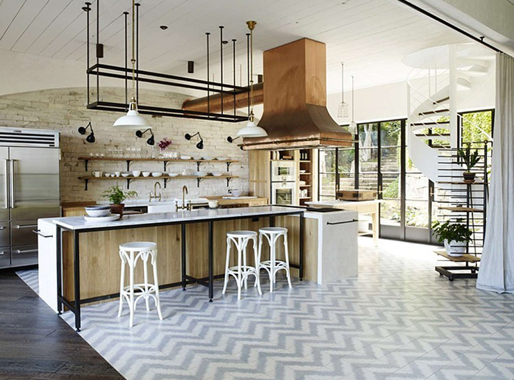 5 kitchen trends-TILES-Eclectic Trends
