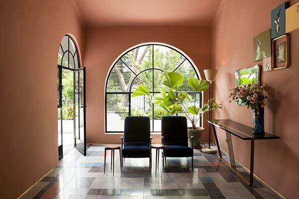 Casa Fayette-Hall-Studio Dimore-Eclectic- Trends