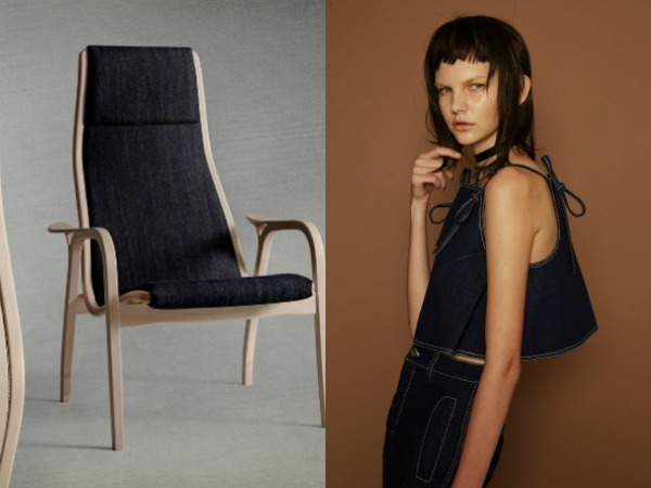 Interior Meets Fashion-Denim Vibes-Eclectic Trends