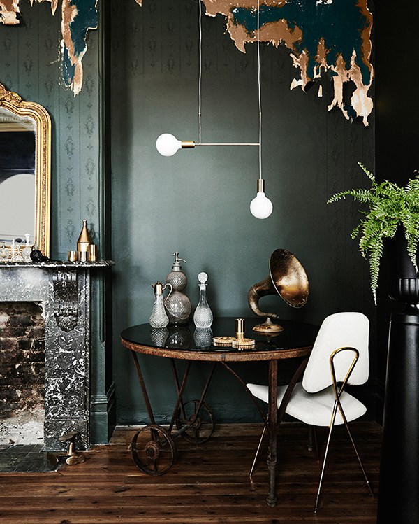 It's trending: 10 examples of Green Walls- Eclectic Trends