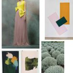 Color Inspiration No.8: Stone Green, Antique Rose, Lemon Butter, Amber & Pine