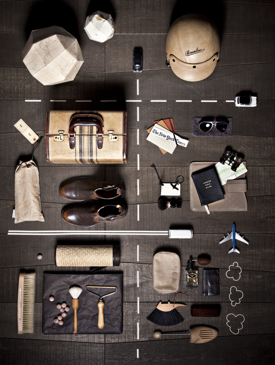 8 great examples of Knolling Photography and the answer to What exactly means Knolling Photography? - Eclectic Trends