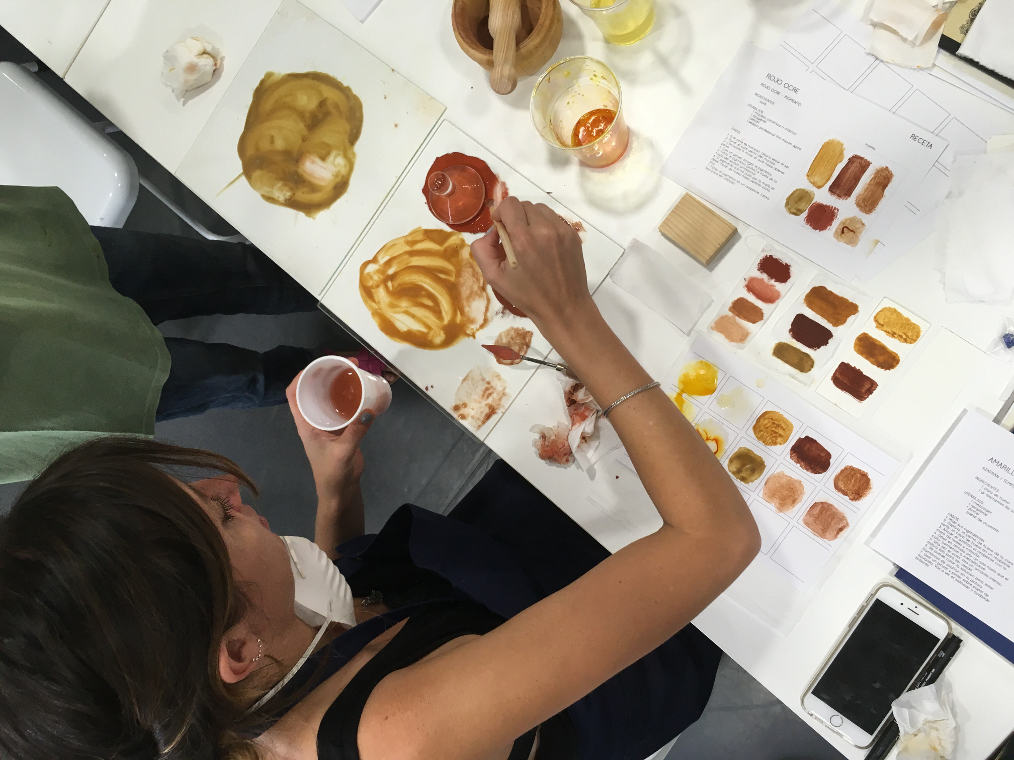 Color Alquimia Workshop with laura Daza-A review-Eclectic Trends