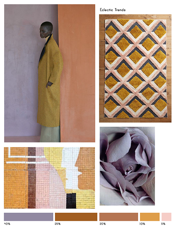 Color inspiration No.12-Eclectic Trends