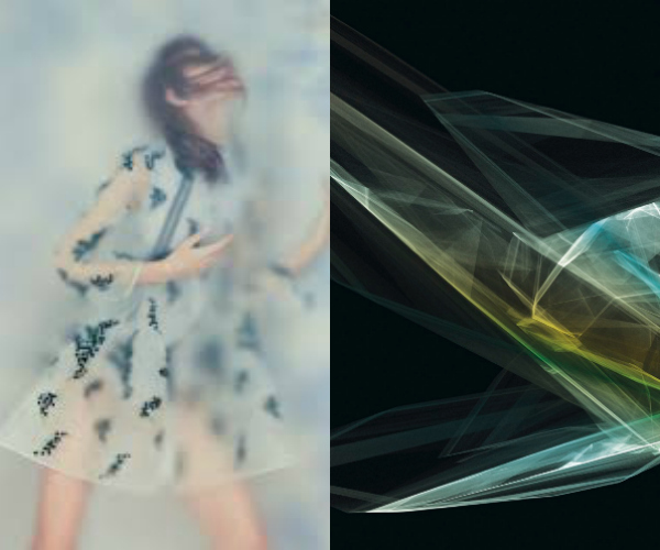 Transparency - The equilibrium between showing and hiding by Miriam Martí via Eclectic Trends
