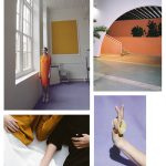 Color Inspiration No.17: Papaya, Lavender, Curcuma, Black & Porcelain