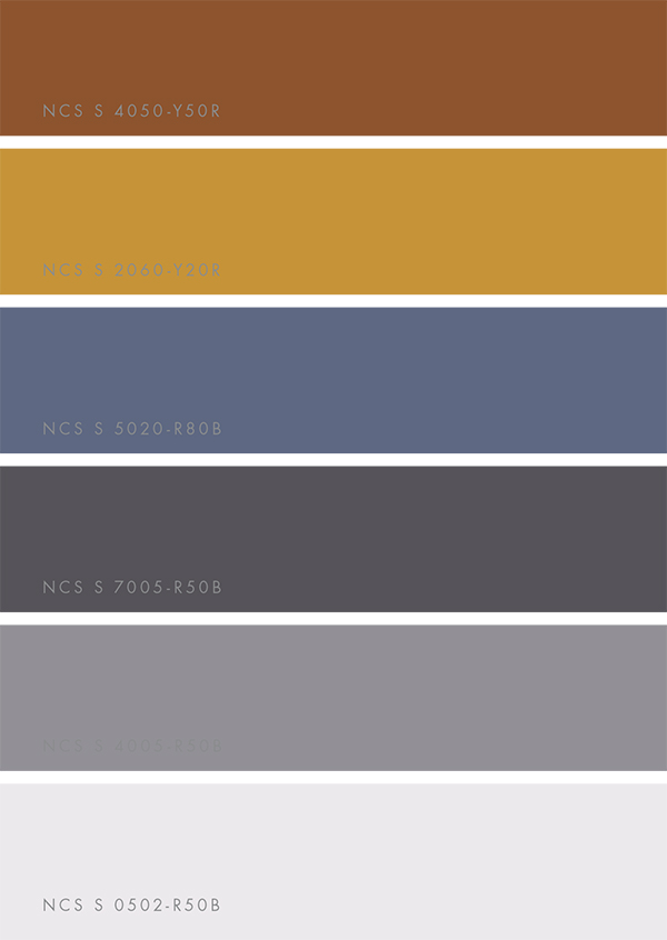 NCS Colour Trends 2018 via Eclectic Trends