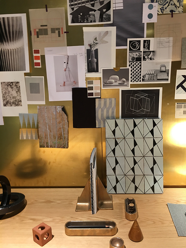 How do Ikea, Vitra and Carl Hansen&Sons use mood boards via Eclectic Trends