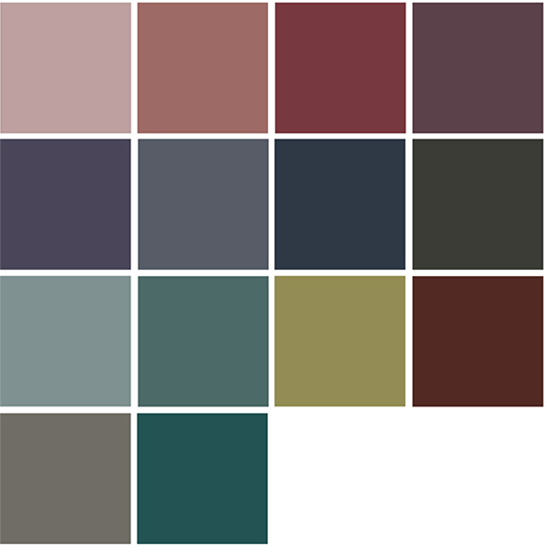4 Color Trends 2018 by Dulux Reflect Color Palette via Eclectic-Trends