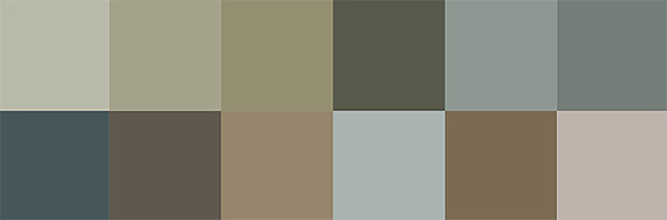 3 Jotun Colors for 2018 - Lush Garden Color Palette via Eclectic Trends