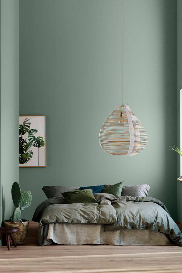Jotun Colors 2018 Lush Garden via Eclectic Trends