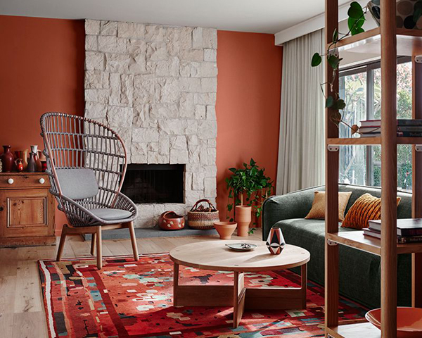 4 Color Trends 2018 by Dulux_Kinship_1 via Eclectic Trends
