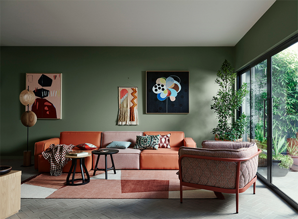 4 Color Trends 2018 by Dulux_Kinship via Eclectic Trends