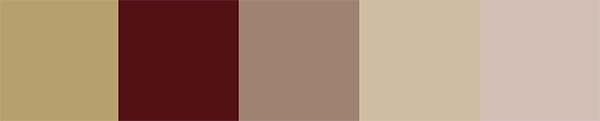 3 Color Trends 2018 by Alcro_Color Palette 2018 Desert Sunset