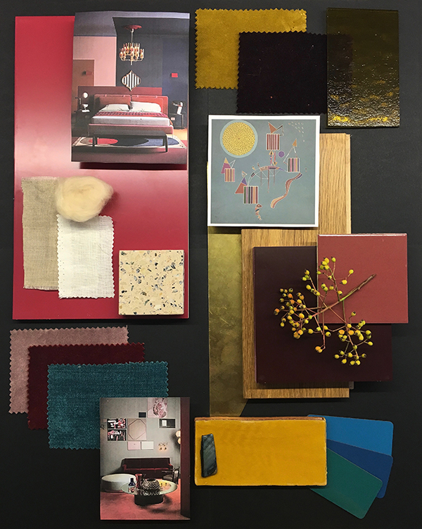 Corporate Mood Board Workshop via Eclectic Trends