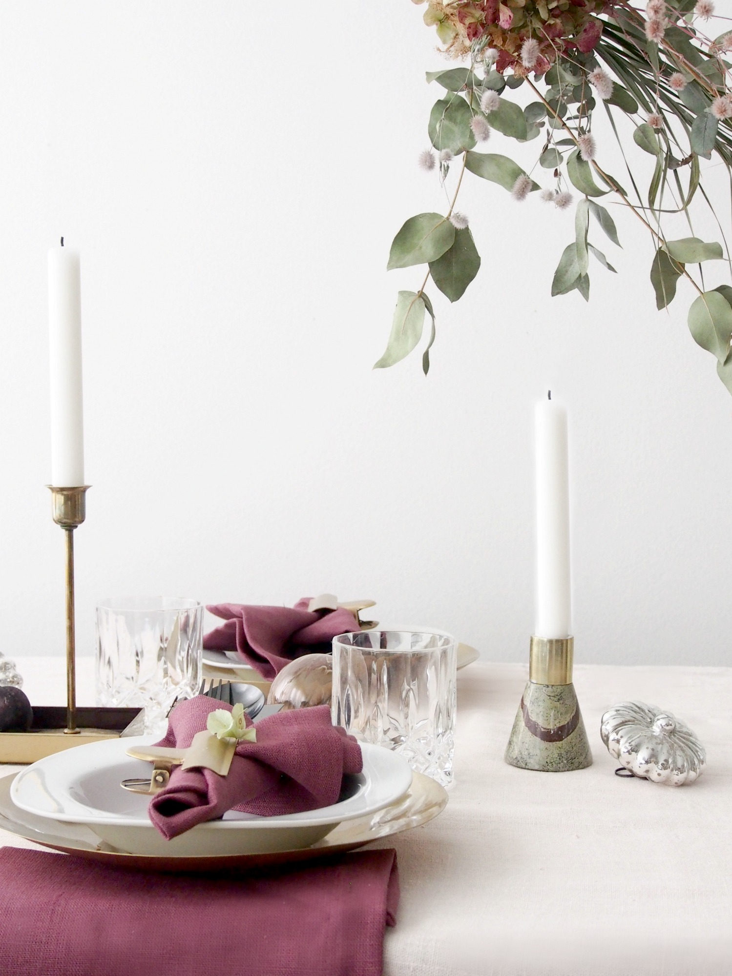 Christmas Table Settings.Eclectic Trends Best Diy Christmas Table Setting Ideas
