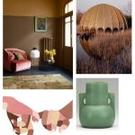 Color Inspiration No.22: Cocoa, Toffee, Bubble Gum, Celadon, Corn