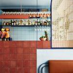 Rusty terracotta vibes at Fonda Restaurant in Melbourne