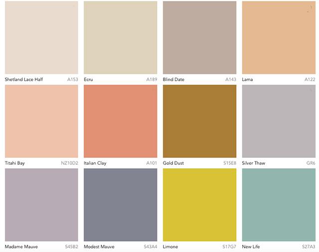 Eclectic Trends 4 Color 2019 Dulux Australia