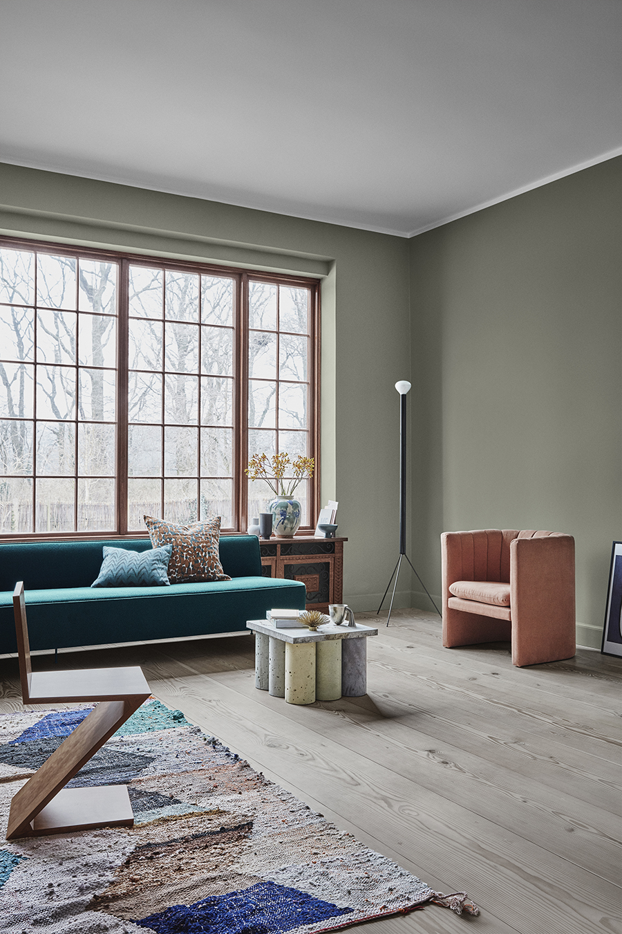 Eclectic trends 3 jotun colors of the year 2019 calm - 2019 home color trends ...