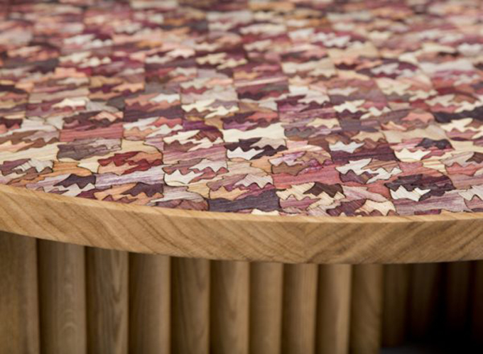Eclectic Trends| The colorful corn-husk based material by Fernando Laposse