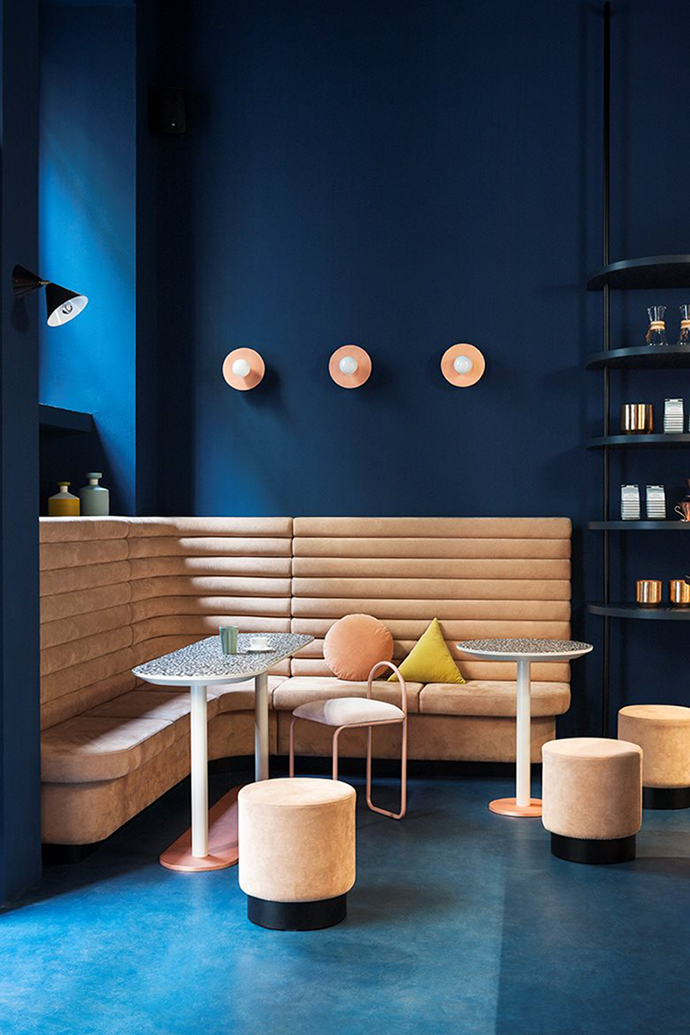 Eclectic Trends | Studiopepe interior design of Cafezal coffee shop in Milan