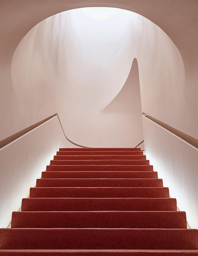 Eclectic Trends | The New Immersive Glossier Store by Gachot Studios