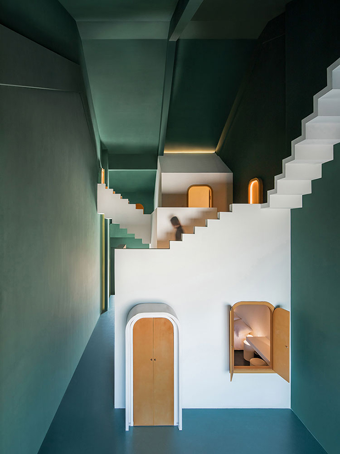 Eclectic Trends | The surreal dream of a guesthouse in China by Studio 10