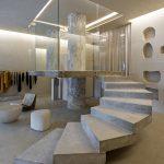 Brutalism inspired store for Haight in Rio de Janeiro
