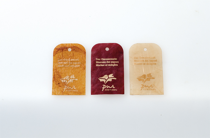 Eclectic Trends | Emma Sicher's sustainable packaging from fruit scraps