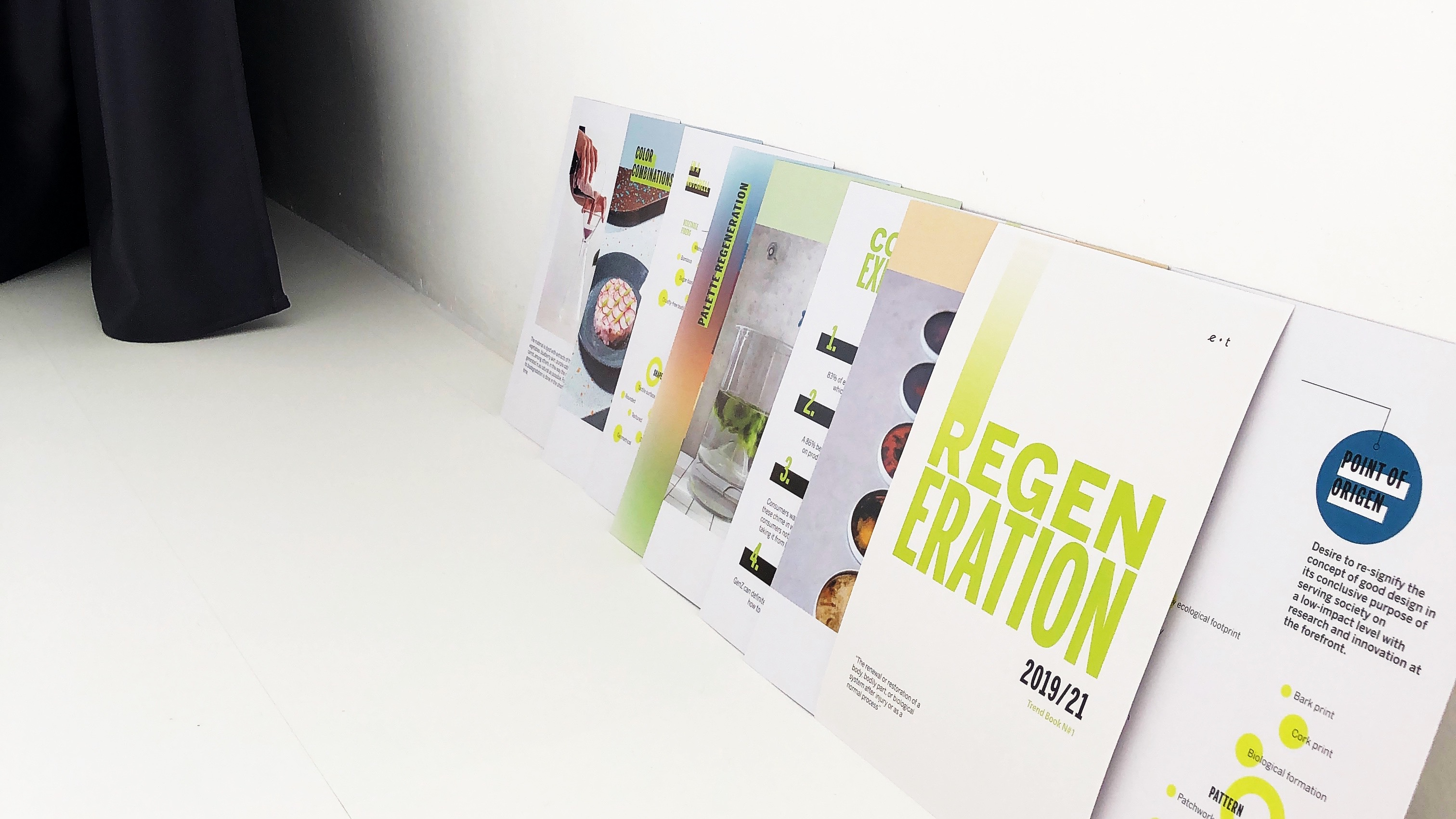 REGENERATION - Our Trend Book No.1 is published