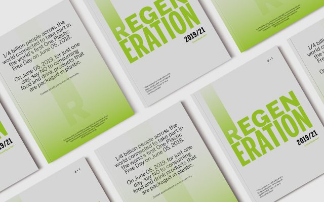 The Green Trend Report REGENERATION is out by Eclectic Trends