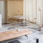 The bold custom terrazzo floor by Do Architects