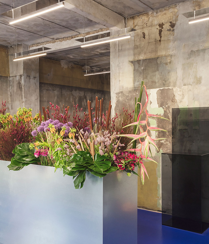Tableau, the space where flower design becomes art