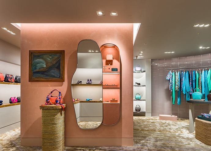 Faye Toogood for Mulberry new store concept