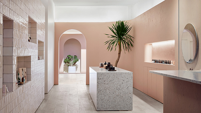 The first CBD self-care space by Standard Dose in New York
