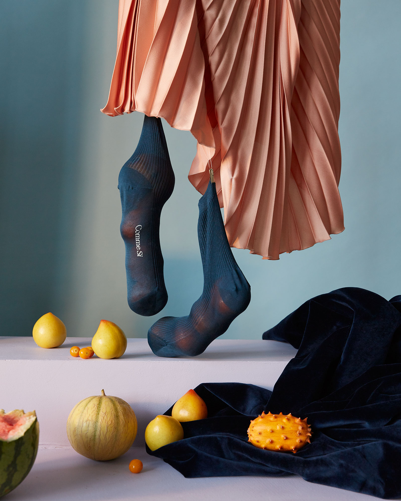 A socks still life story via Doan Ly