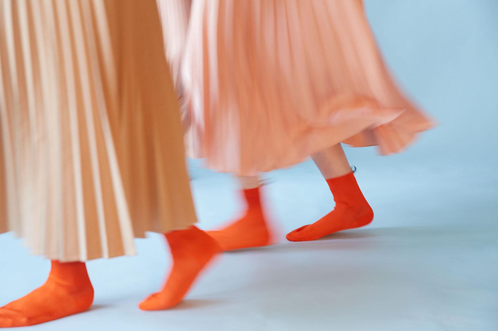 A socks still life story via Doan Ly