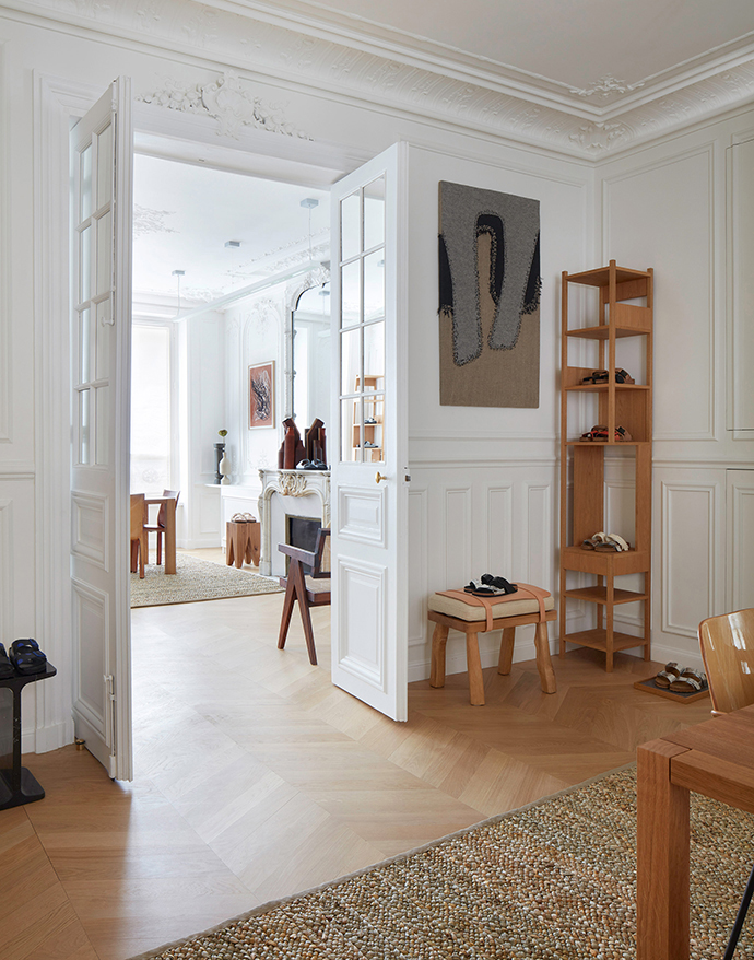 Birkenstock grandiose showroom in Paris