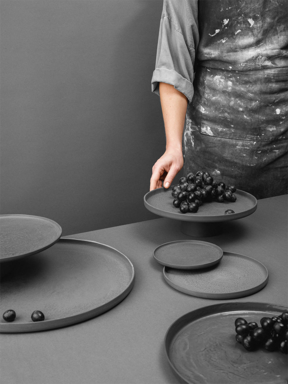 Geometric shapes only - Ceramics tableware by Nüüd Ceramics