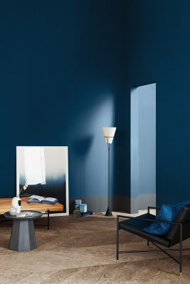 3 Color Universes 2020 by Jotun Statement Blue | Eclectic Trends