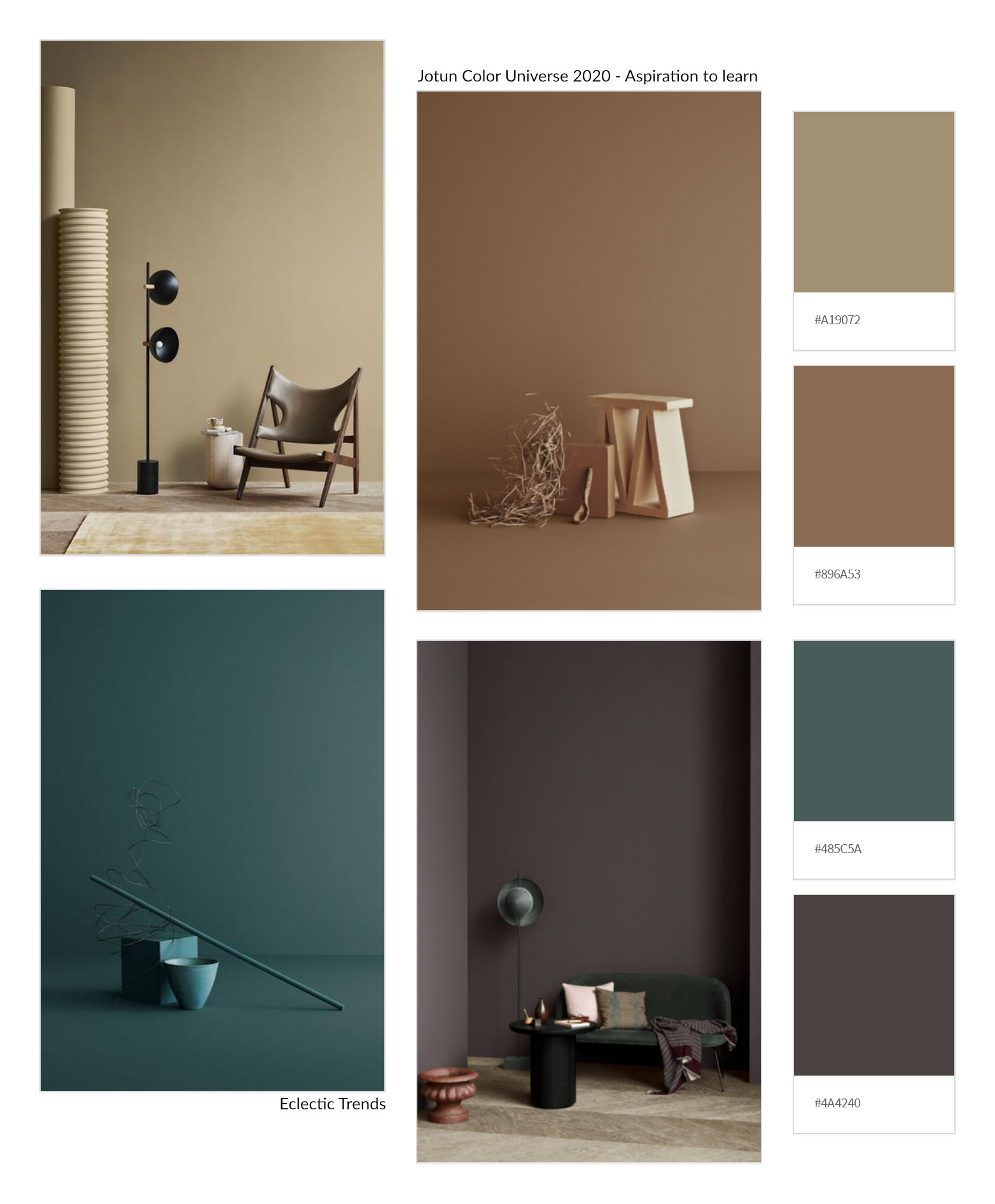 Photography Trends 2020.Eclectic Trends 3 Color Universes 2020 By Norwegian