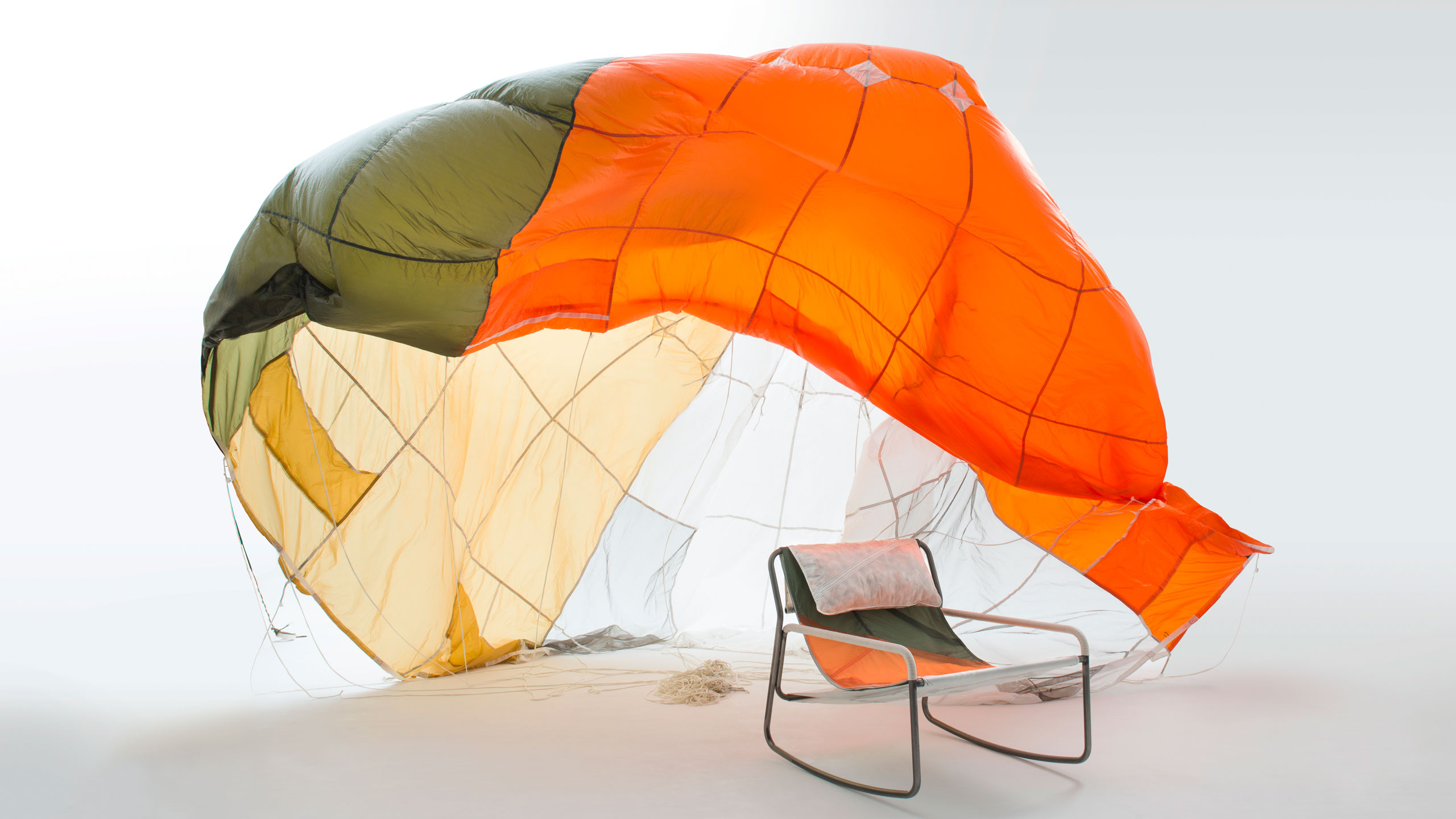 Parachute Recycling by Layer Design | Eclectic Trends