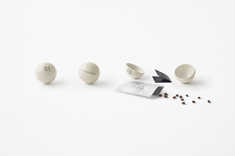 Unmanned coffee shop by Nendo | Eclectic Trends