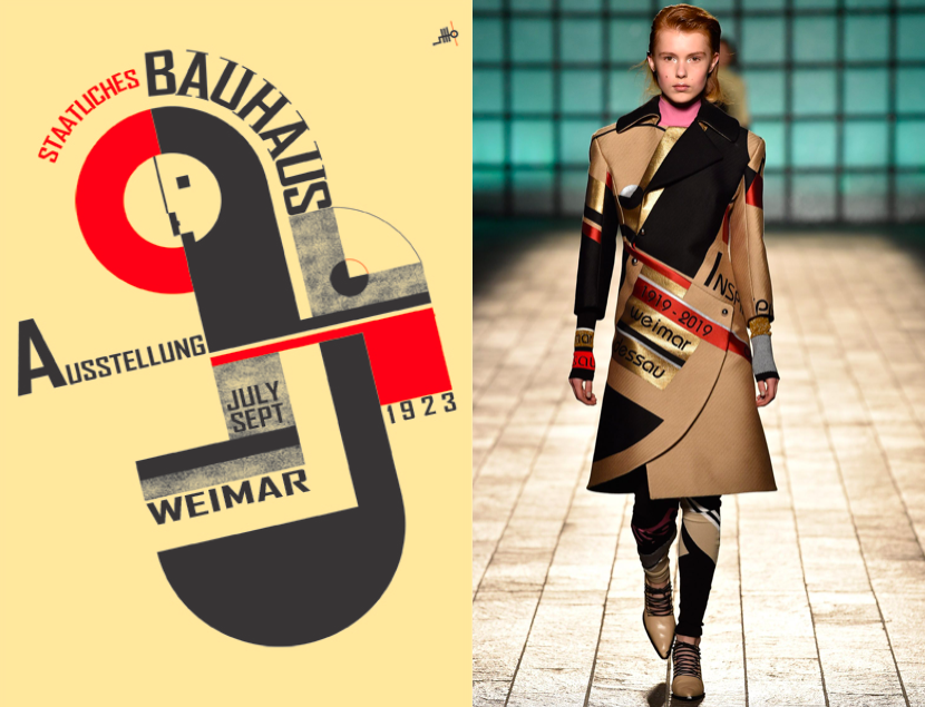 When Interior Desing meets Fashion: Bauhaus |Eclectic Trends