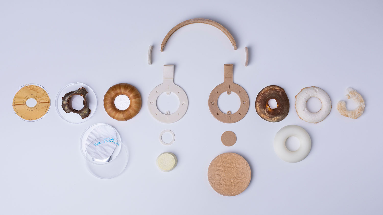 A set of headphones grown from bio-materials |Eclectic Trends