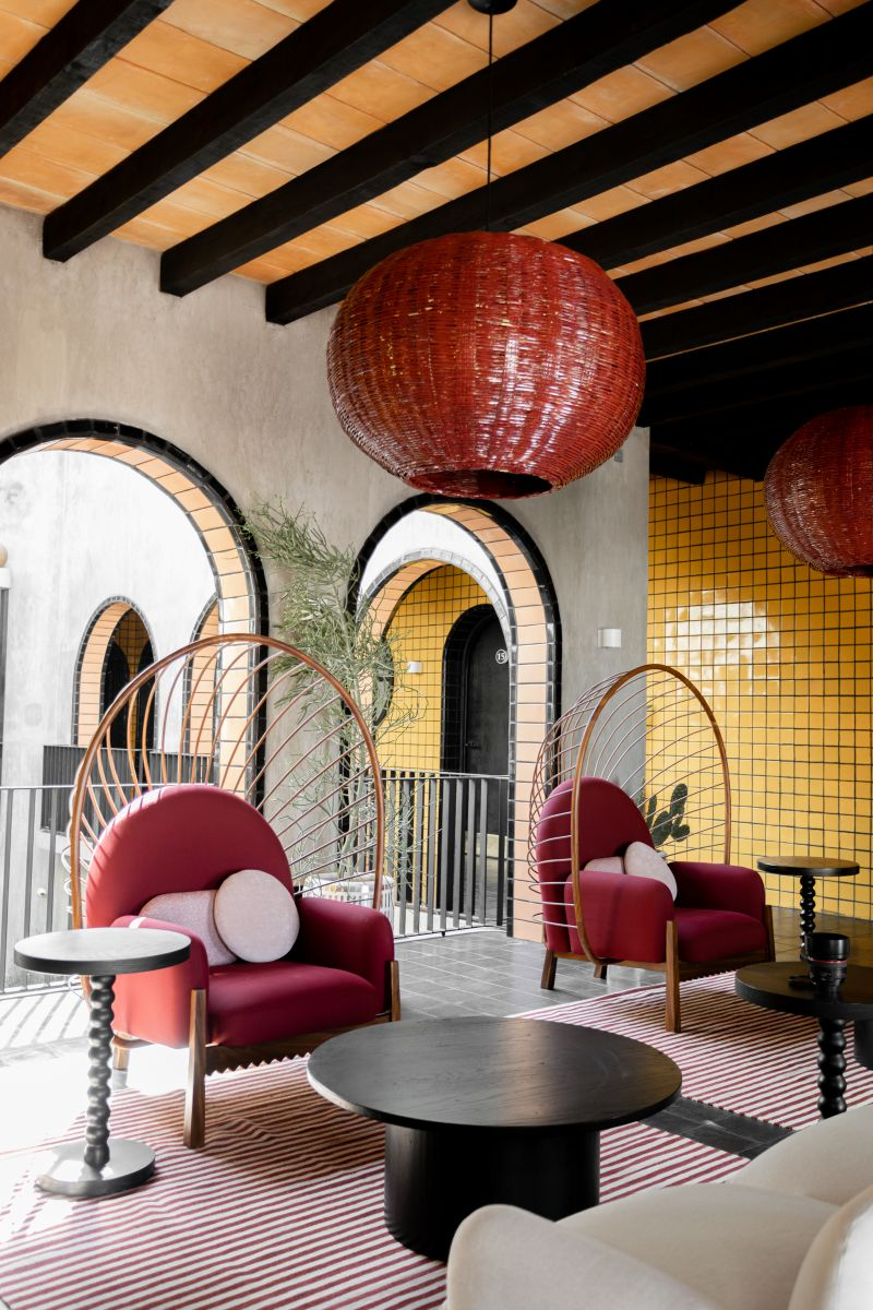 A joyful color palette for Boutique Hotel Casa Hoyos | Eclectic Trends
