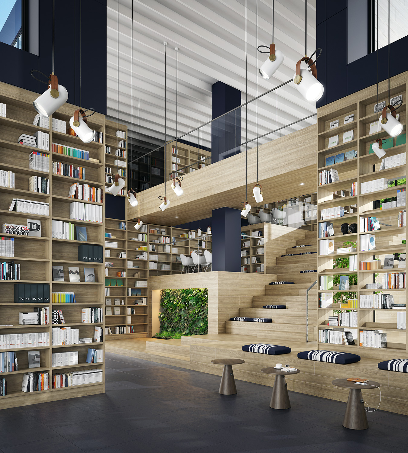 4-Trend-Videos-2020/21-Flexcity-Render-Multifunctional-Library-Eclectic-Trends